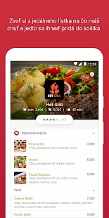 Bistro.sk - food delivery- screenshot thumbnail