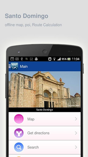 Santo Domingo Map offline