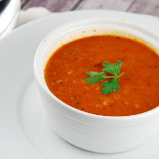 Roasted Red Pepper Soup Basil Recipes