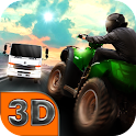 ATV City Traffic Racing 3D icon