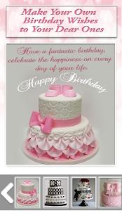 Personalizing Birthday Cake with Name & Photo - náhled