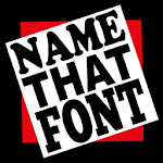 Name That Font icon