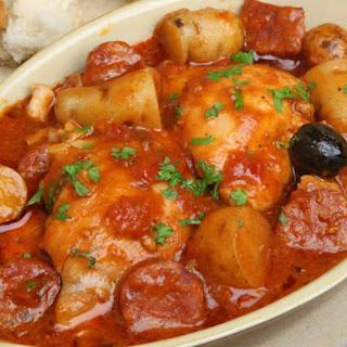 Chorizo Chicken Stew.