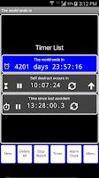 Screenshot of TwoTouch Alarmclock & Timer