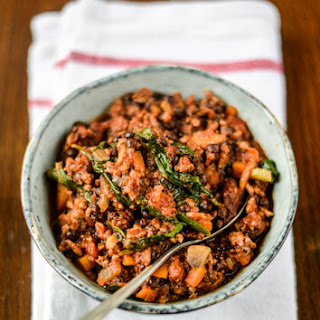 Spinach Lentil Beef Recipes