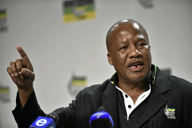 The ANC's Jackson Mthembu.