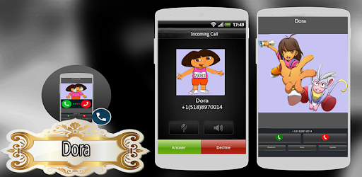 Call from Dora Games Games (apk) free download for Android/PC/Windows screenshot