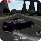 Retro Car Driving Simulator 3D icon