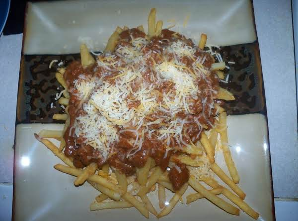 Family Favorite - Turkey Chilli Cheese Fries Recipe
