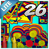 Coloring Book 26 Lite: Geometric Designs