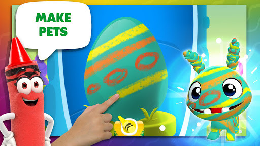 Crayola Create & Play: Coloring & Learning Games screenshots 4