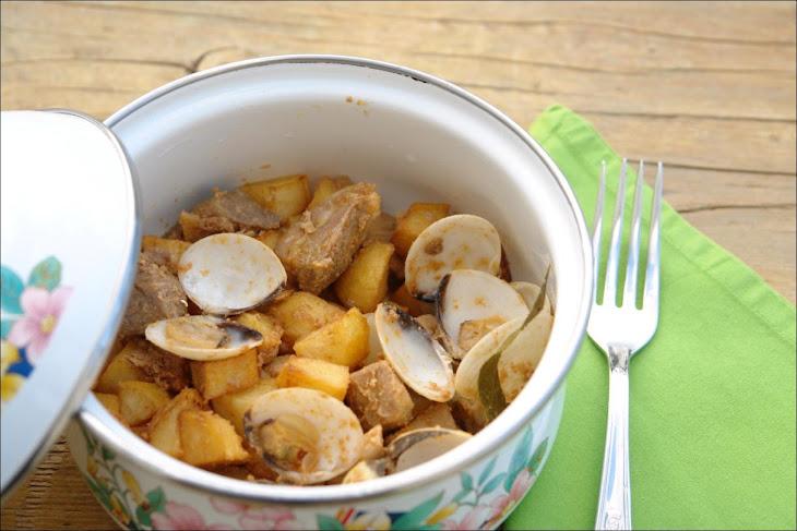 Pork Cooked in Alentejo'S Way Recipe
