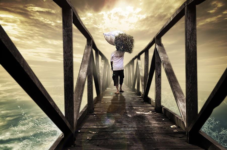 semoga tidak terjadi apa-apa dijalan.... by E-Graphic Rider - Digital Art People