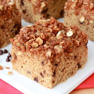 Low-Calorie Chocolate-Chip Coffee Cake.