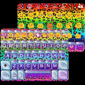 Rainbow Leopard Emoji Keyboard