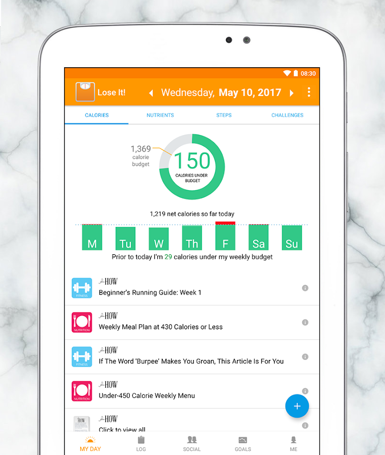 lose it calorie counter android apps on google play