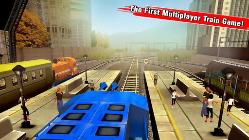 Train Racing Games 3D 2 Player Screenshot