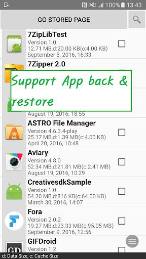 Zipper screenshot