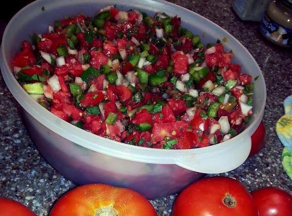 Deb's Homemade Fresh Salsa Recipe