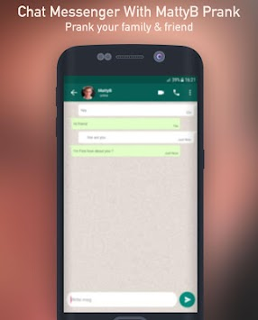 download chat messenger with mattyb prank apk latest version game