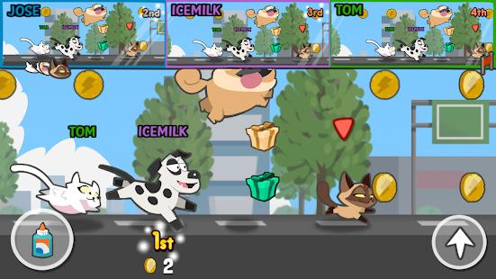 Pets Race – Fun Multiplayer PvP Online Racing Game 14