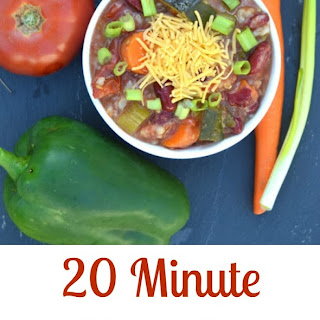 20 Minute Hearty Vegetable Soup