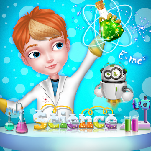 Learning Science Experiment : Kids School Icon