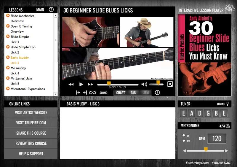 Andy Aledort - 30 Beginner Slide Blues Licks You Must Know