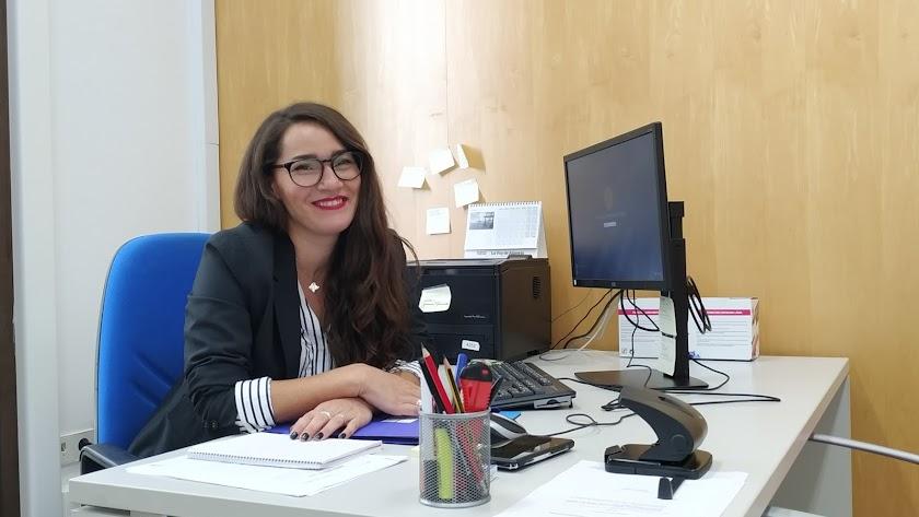 Carmen Mateos, portavoz municipal de Podemos