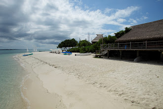 Photo: South beach and boat house (RHS of picture)