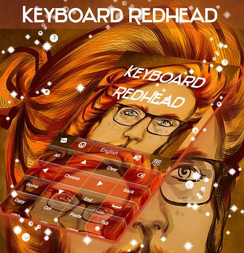 玩免費個人化APP|下載빨간 머리 키보드 app不用錢|硬是要APP