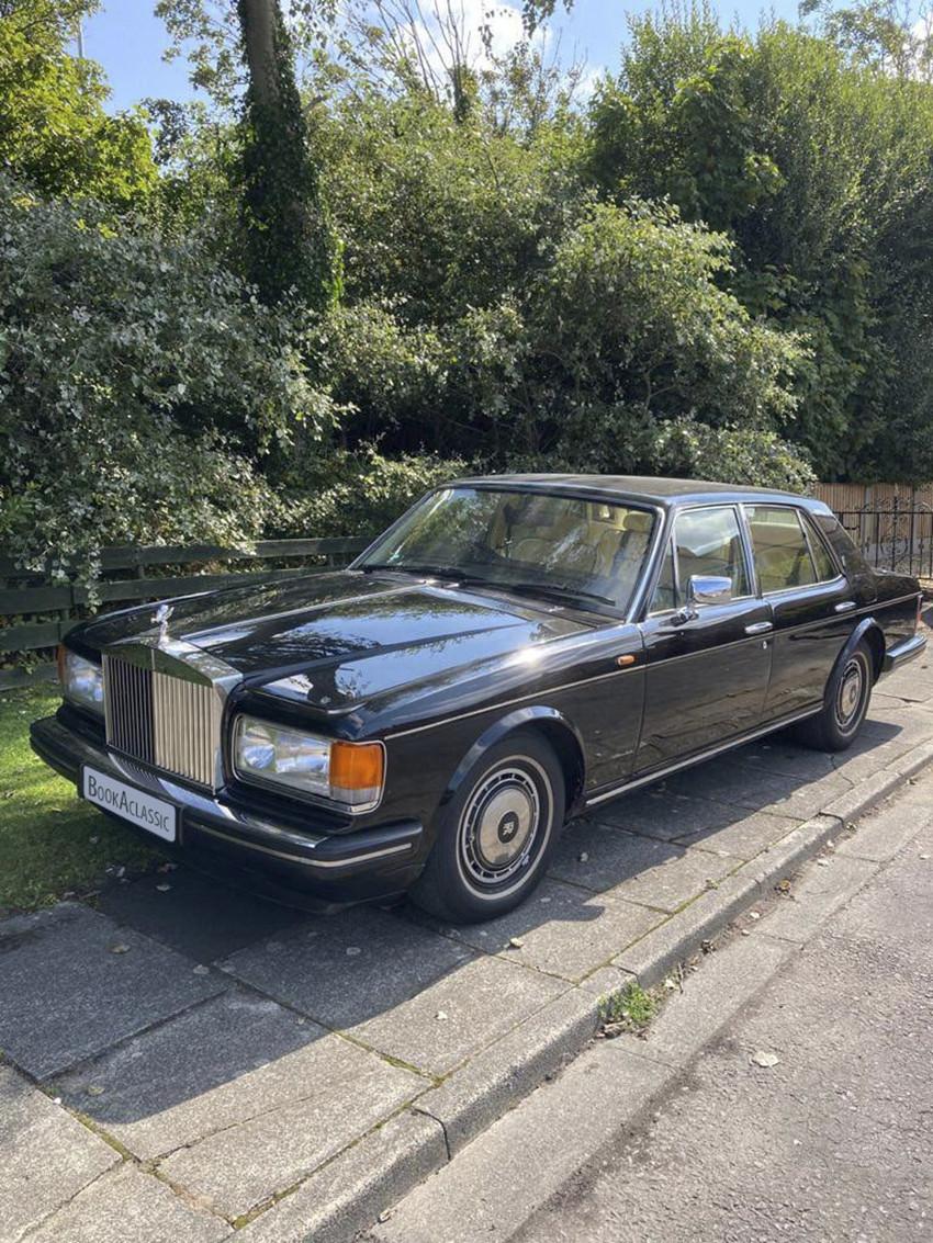 Rolls-Royce Silver Spirit Hire Thornton-cleveleys