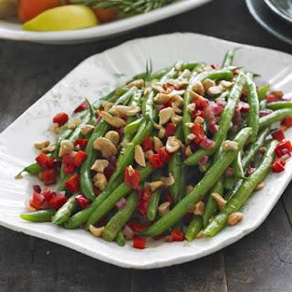 Sautéed Green Beans & Cashews.
