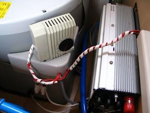 Photo: Dejando los cables recogidos