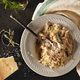 Turkey And Leek Risotto.