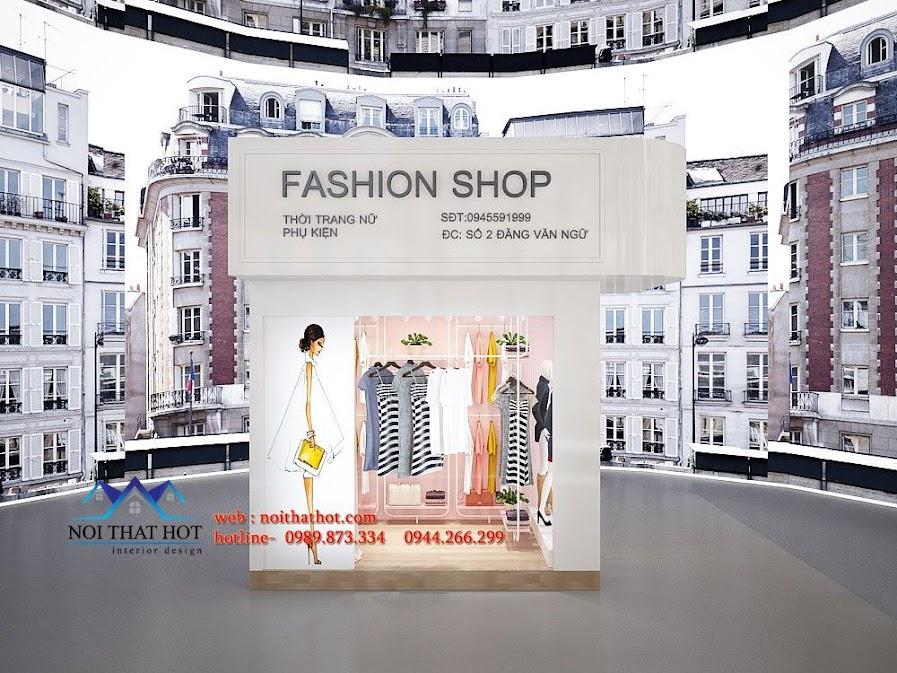thiết kế shop thời trang ena 1