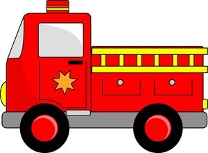 Image result for Fire engine cartoon