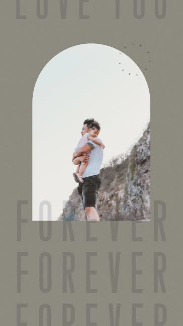 Forever and Ever - Father's Day template