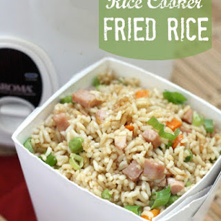 Rice Cooker Fried Rice.