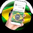 Brazil Flag Keyboard - Elegant Themes APK
