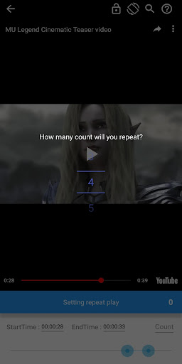 YouTube Repeat Player PRO - Loop YouTube Videos.  screenshots 3