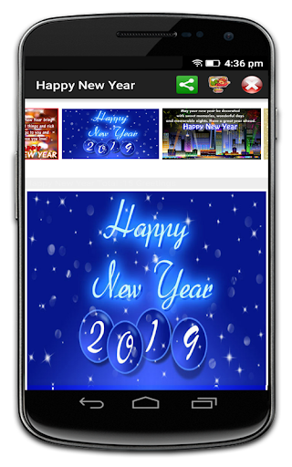 Happy New Year 2019 Greetings 9.0 screenshots 3