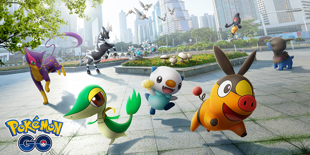 Countdown to Pokémon GO Tour: Kanto—celebrate the Unova region with us!
