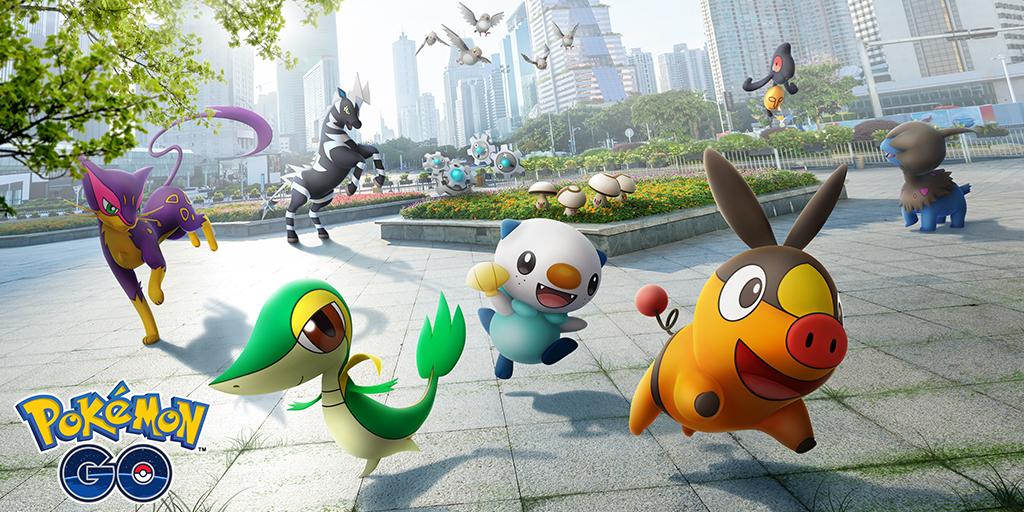 Cuenta regresiva para el Tour de Pokémon GO: Kanto: ¡celebren la región de Teselia con nosotros!