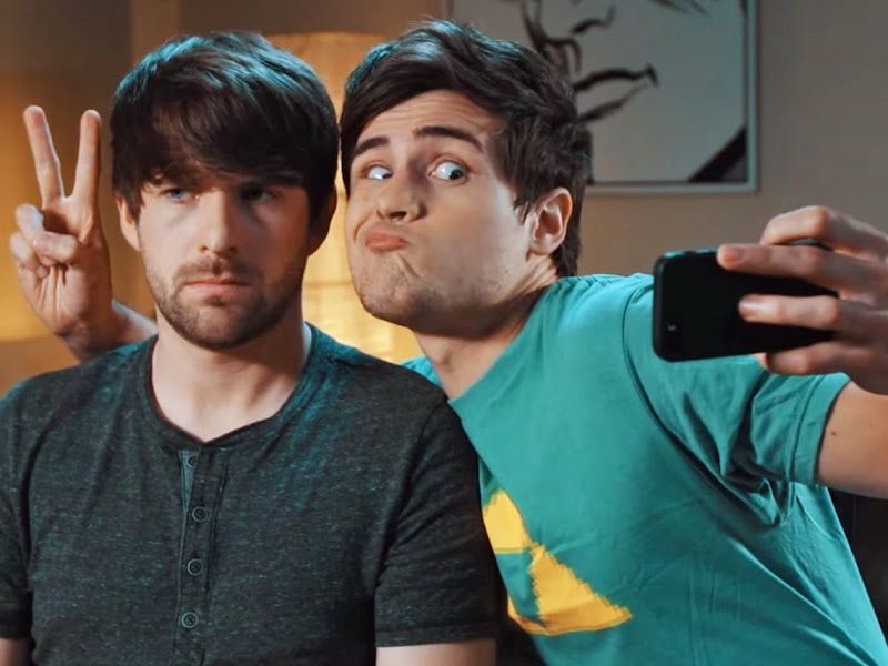 Smosh: the No. 1 celebrity influencer of Generation Z whose YouTube channel has 22 million subscribers.