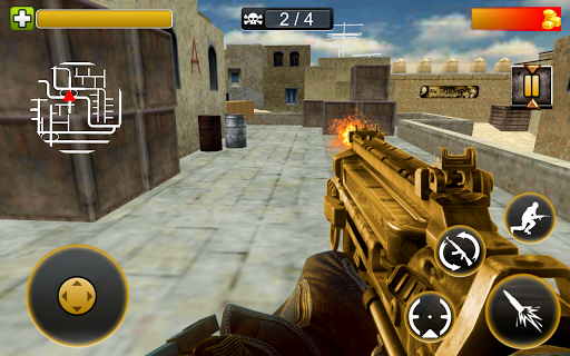Frontline Sharpshooter Commando 3d 1.0 APK MOD screenshots 1