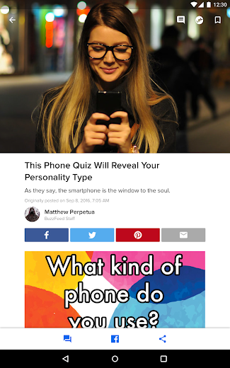 Screenshot 7 for BuzzFeed's Android app'