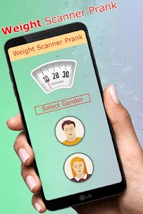 Weight Scanner Prank - náhled