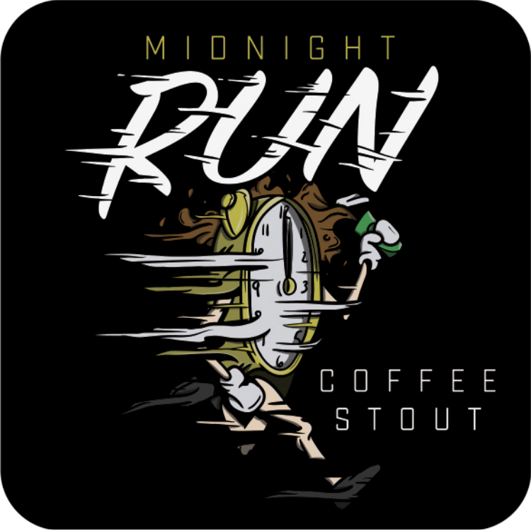 Logo of 12 West Midnight Run Coffee Oatmeal Stout