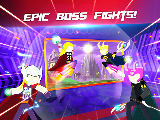 Super Stickman Heroes Fight screenshots 9